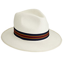 Buy John Lewis Ath Panama Hat, Neutral Online at johnlewis.com
