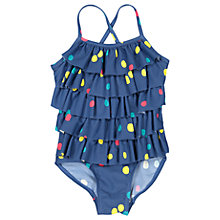 Buy Polarn O. Pyret Baby Dot Swimsuit, Blue Online at johnlewis.com