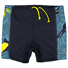 Buy Polarn O. Pyret Boys' Toucan Swim Trunks, Blue Online at johnlewis.com