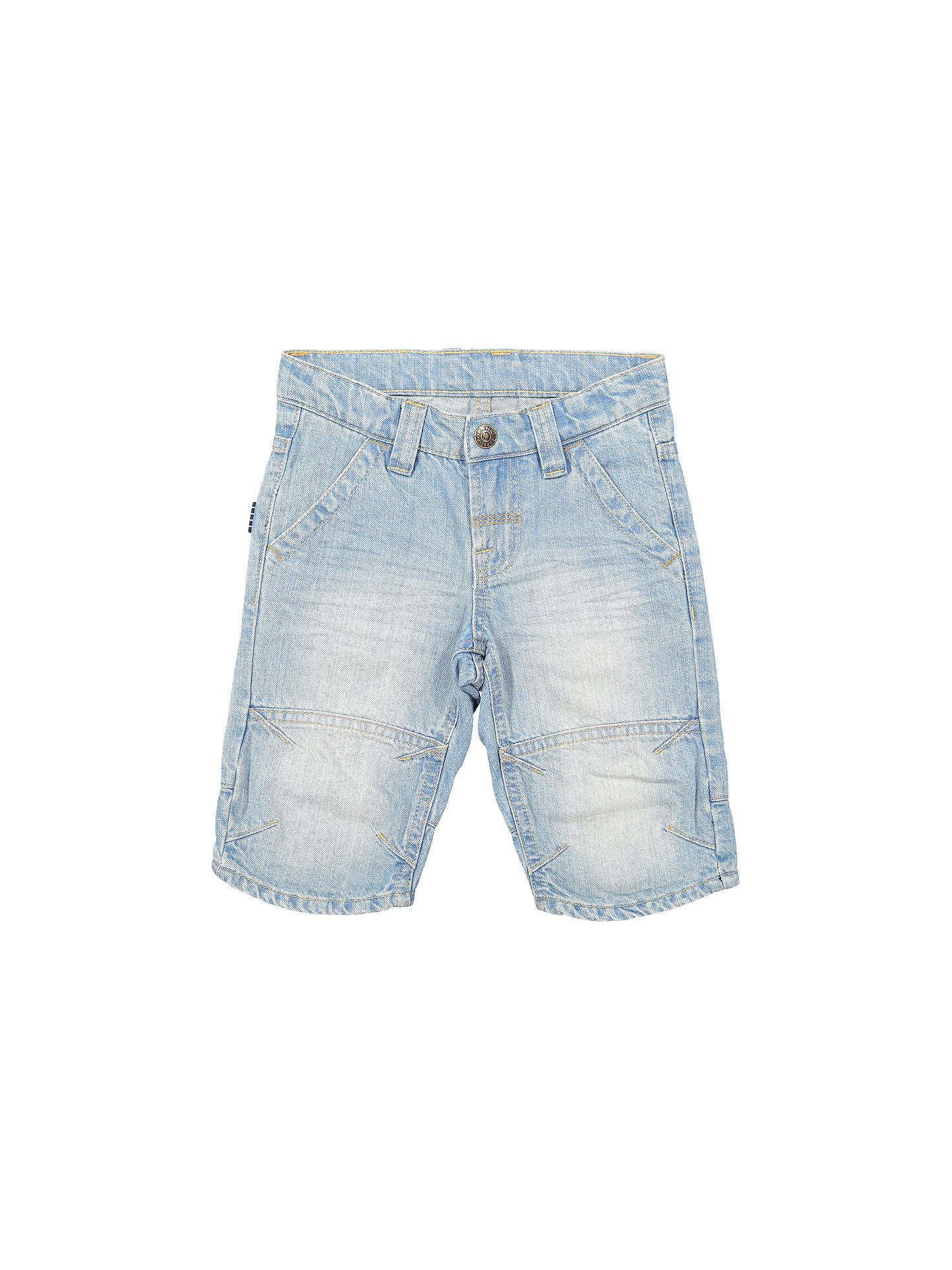 5a83bdf3db9d BuyPolarn O. Pyret Children's Denim Shorts, Blue, 2-3 years Online at ...
