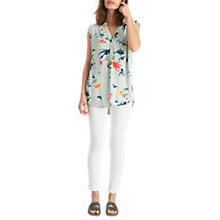Buy Joules Jae Top, Green Bird Clematis Online at johnlewis.com