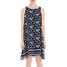 Buy Max Studio Sleeveless Floral Print Dress, Dark Navy Online at johnlewis.com
