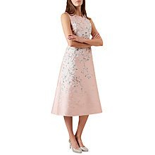 Buy Hobbs Julietta Blossom Print Dress, Blossom Pink Online at johnlewis.com