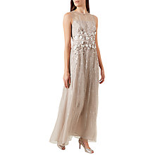 Buy Hobbs Beatrice Dress, Champagne Online at johnlewis.com