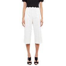 Buy Ted Baker Oderat High Waisted Culottes, Ivory Online at johnlewis.com
