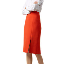 Buy Hobbs Nina Skirt, Flame Orange Online at johnlewis.com