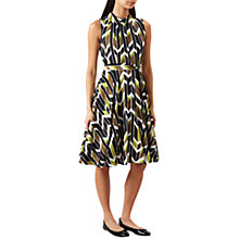 Buy Hobbs Rowena Dress, Lime Green Online at johnlewis.com
