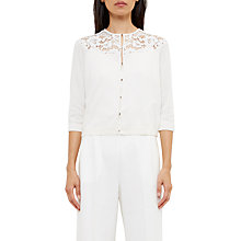 Buy Ted Baker Graccia Beaded Lace Cardigan Online at johnlewis.com