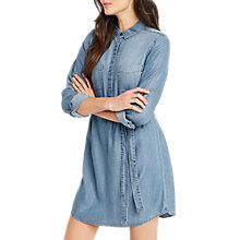 Buy Oasis Libby Shirt Dress, Denim Online at johnlewis.com