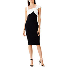 Buy Coast Alma Shift Dress, Monochrome Online at johnlewis.com