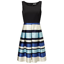 Buy Precis Petite Jeff Banks Stripe Dress, Blue/Multi Online at johnlewis.com