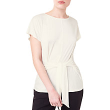Buy Precis Petite Tie Front Jersey Top Online at johnlewis.com