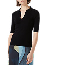 Buy Jigsaw Silk Blend Open Neck Top Online at johnlewis.com
