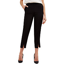 Buy Jaeger Tipping Detail Trousers, Black Online at johnlewis.com