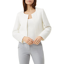 Buy Fenn Wright Manson Petite Valencia Jacket, Ivory Online at johnlewis.com