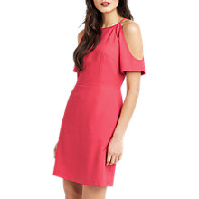 Buy Oasis Cold Shoulder Shfit Dress Online at johnlewis.com