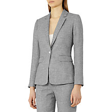 Buy Reiss Turlington Tailored Jacket, Grey Online at johnlewis.com