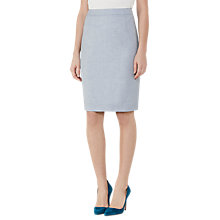 Buy Reiss Wren Fitted Skirt, Grey Online at johnlewis.com