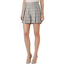 Buy Reiss Webb Heritage Check Shorts, Grey/Black Online at johnlewis.com