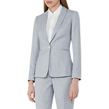 Buy Reiss Wren Tailored Jacket, Sky Blue Online at johnlewis.com