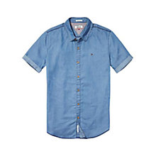 Buy Tommy Hilfiger Denim Shirt, Light Indigo Online at johnlewis.com