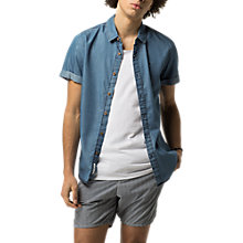 Buy Tommy Jeans Denim Shirt, Light Indigo Online at johnlewis.com