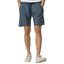 Buy Hilfiger Denim Raw Edge Shorts, Ensign Blue Online at johnlewis.com