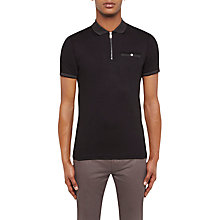 Buy Ted Baker Cook Zip-Up Polo Shirt Online at johnlewis.com