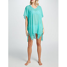 Buy Seafolly Amnesia Kaftan, Bahama Blue Online at johnlewis.com