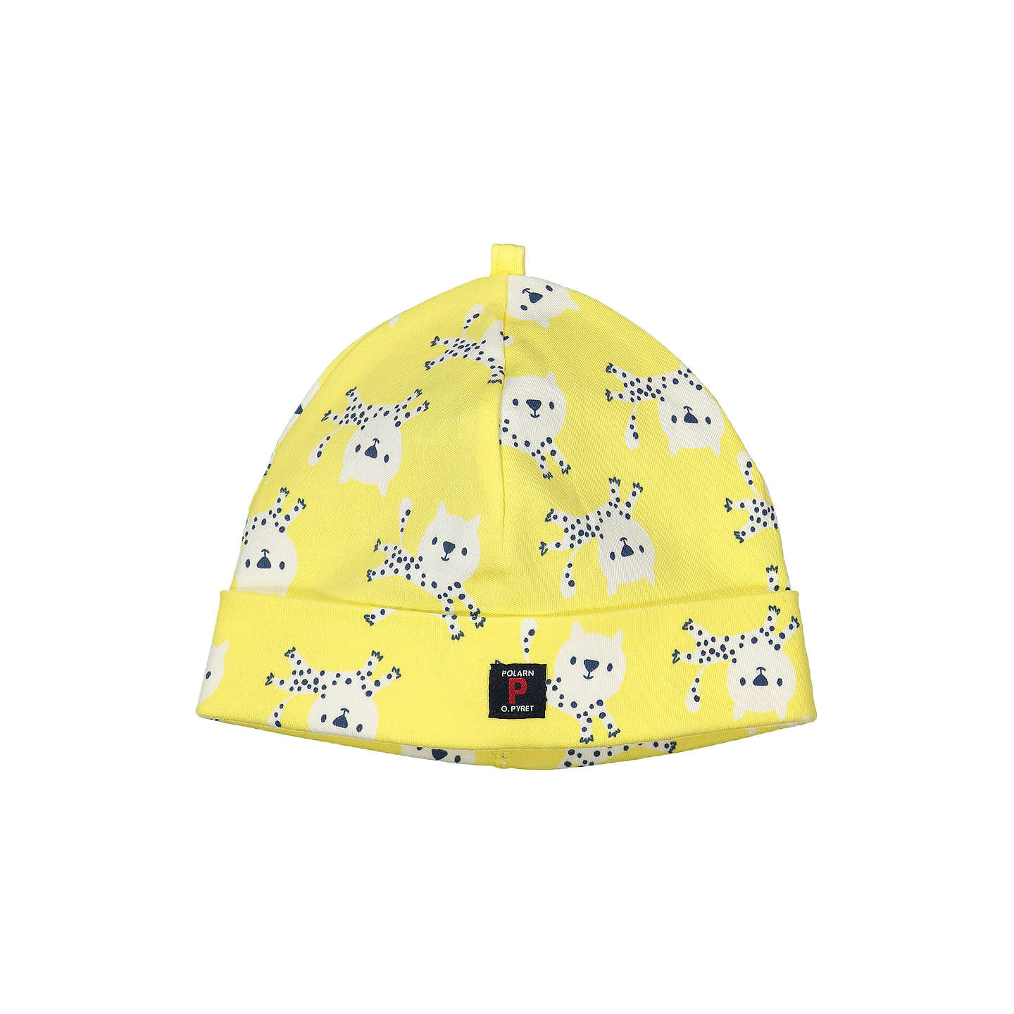 Buypolarn O Pyret Baby Leopard Beanie Hat, Yellow, 1 2 Months