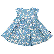 Buy Polarn O. Pyret Baby Flower Dress, Blue Online at johnlewis.com