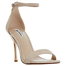 Buy Dune Midsummer Stiletto Heeled Sandals, Blush Online at johnlewis.com