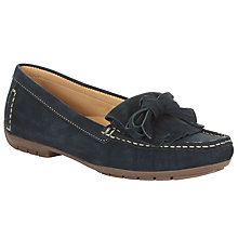 Buy John Lewis Gizi Moccasins, Navy Online at johnlewis.com