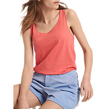 Buy Joules Bo Basic Vest, Coral Online at johnlewis.com