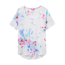 Buy Joules Zoe Jersey Back Top, Summer Floral Online at johnlewis.com