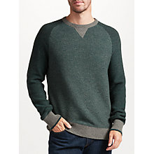 Buy John Lewis Lambswool Raglan Pique Jumper Online at johnlewis.com