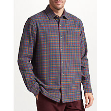 Buy John Lewis Winter Tattersall Check Soft Flannel Shirt, Multi Online at johnlewis.com
