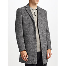 Buy Kin by John Lewis Long Overcoat, Salt and Pepper Online at johnlewis.com