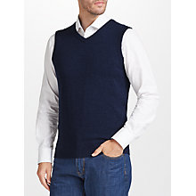Buy John Lewis Merino Cashmere Sleeveless Knit Jumper Online at johnlewis.com