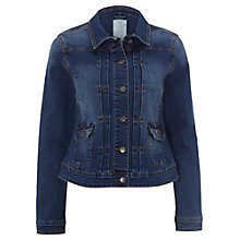 Buy White Stuff Delilah Denim Jacket, Denim Online at johnlewis.com
