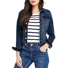 Buy Oasis Willow Denim Jacket, Denim Online at johnlewis.com