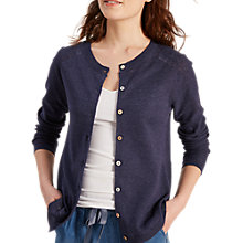 Buy White Stuff Chalky Cardigan, Navy Online at johnlewis.com