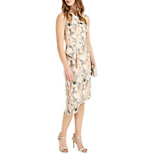 Buy Phase Eight Azzura Print Dress, Camel/Multi Online at johnlewis.com