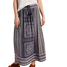 Buy White Stuff Milena Maxi Print Border Skirt, Multi/Blue Online at johnlewis.com