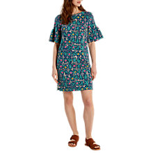 Buy White Stuff Markmate Jersey Dress, Green Online at johnlewis.com