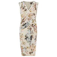Buy Phase Eight Marthe Floral Print Dress, Ivory/Multi Online at johnlewis.com