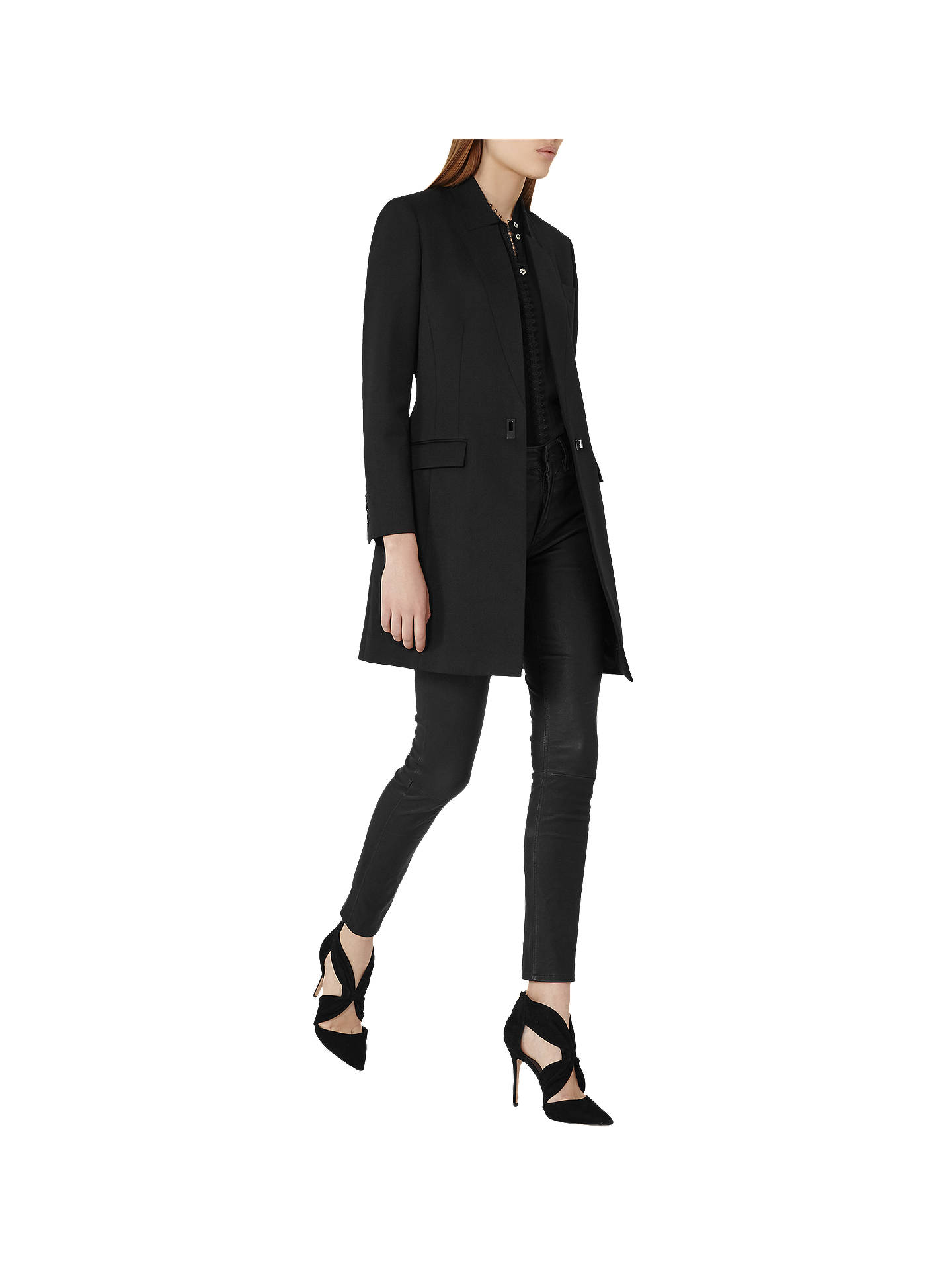 Rebecca Black Tailored Coat Reiss
