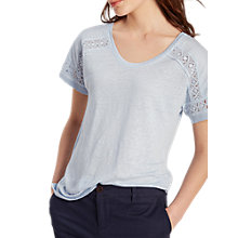 Buy White Stuff Celia Linen Jersey T-Shirt Online at johnlewis.com