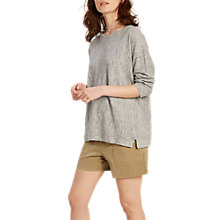 Buy White Stuff Desert Oasis Jumper, Grey Marl Online at johnlewis.com