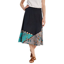 Buy White Stuff Saving Grace Flared Midi Skirt, Multi Online at johnlewis.com